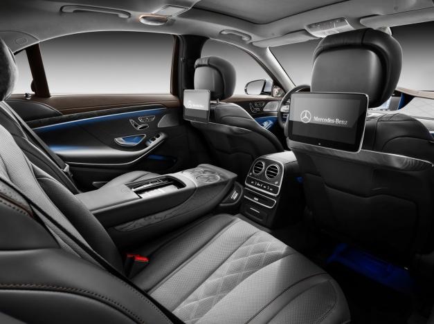 Mercedes-Benz-Class-S-2018 interior